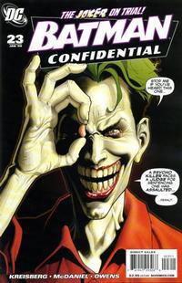 Cover Thumbnail for Batman Confidential (DC, 2007 series) #23