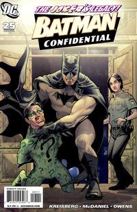 Cover Thumbnail for Batman Confidential (DC, 2007 series) #25