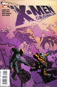 Cover Thumbnail for X-Men: Original Sin (Marvel, 2008 series) #1