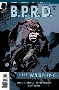 Cover Thumbnail for B.P.R.D.: The Warning (Dark Horse, 2008 series) #4