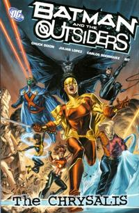 Cover Thumbnail for Batman and the Outsiders (DC, 2008 series) #1 - The Chrysalis