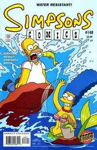 Cover Thumbnail for Simpsons Comics (Bongo, 1993 series) #148