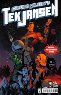 Cover Thumbnail for Stephen Colbert's Tek Jansen (Oni Press, 2007 series) #1