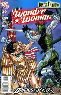 Cover Thumbnail for Wonder Woman (DC, 2006 series) #29