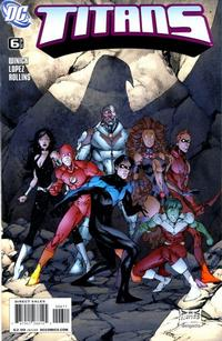 Cover Thumbnail for Titans (DC, 2008 series) #6