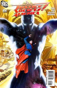 Cover Thumbnail for Justice Society of America (DC, 2007 series) #22 [Alex Ross Cover]