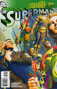 Cover for Superman (DC, 2006 series) #682