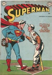 Cover Thumbnail for Superman (Simcoe Publishing & Distribution, 1949 series) #60