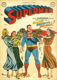 Cover Thumbnail for Superman (Simcoe Publishing & Distribution, 1949 series) #61