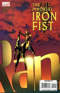 Cover Thumbnail for The Immortal Iron Fist (Marvel, 2007 series) #19