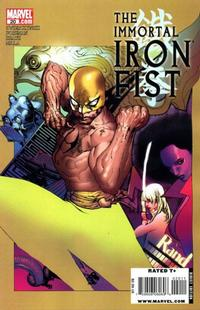 Cover Thumbnail for The Immortal Iron Fist (Marvel, 2007 series) #20