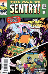 Cover Thumbnail for The Age of the Sentry (Marvel, 2008 series) #5