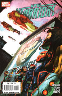 Cover Thumbnail for New Warriors (Marvel, 2007 series) #17