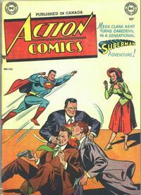 Cover Thumbnail for Action Comics (Simcoe Publishing & Distribution, 1948 series) #133