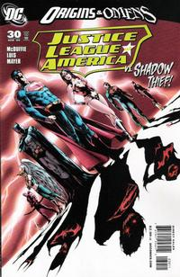 Cover for Justice League of America (DC, 2006 series) #30