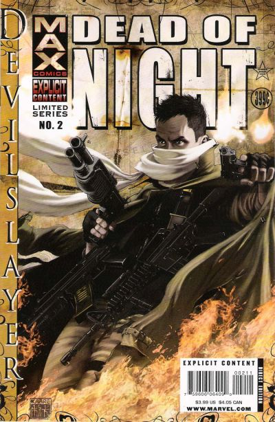 Cover for Dead of Night Featuring Devil-Slayer (Marvel, 2008 series) #2