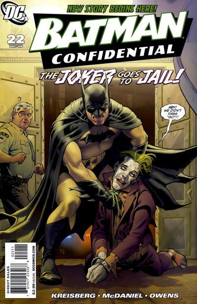 Cover for Batman Confidential (DC, 2007 series) #22