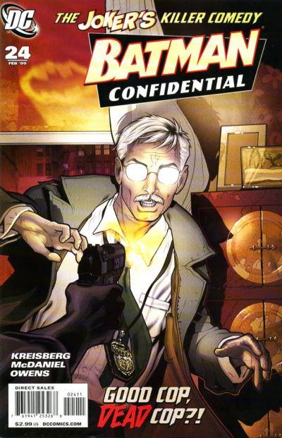 Cover for Batman Confidential (DC, 2007 series) #24