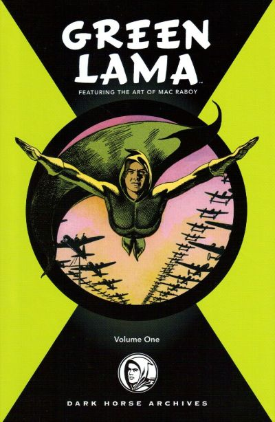 Cover for Green Lama Featuring the Art of Mac Raboy (Dark Horse, 2008 series) #1