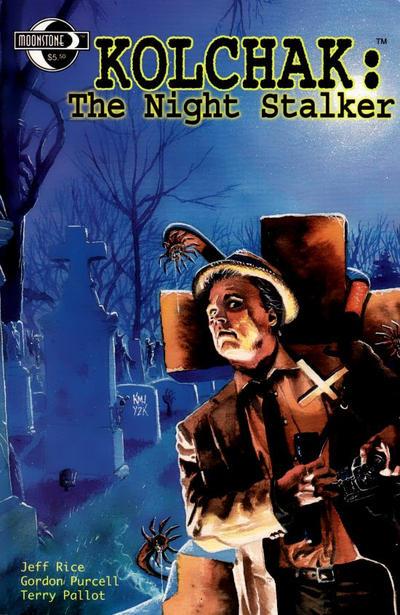 Cover for Kolchak the Night Stalker (Moonstone, 2002 series)