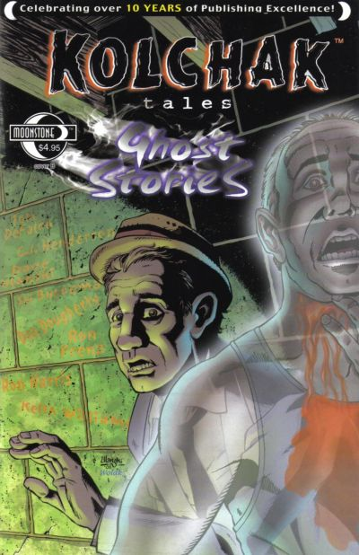 Cover for Kolchak Tales: Ghost Stories (Moonstone, 2006 series)