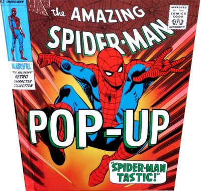 Cover for The Amazing Spider-Man Pop-Up (Candlewick Press, 2007 series) #[nn]