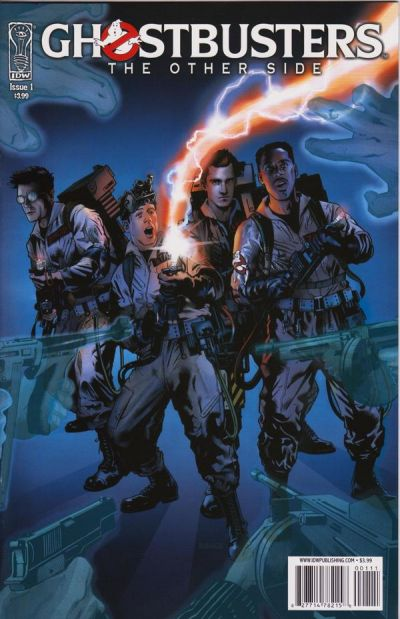 Cover for Ghostbusters: The Other Side (IDW, 2008 series) #1