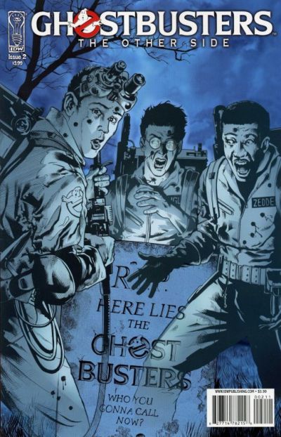 Cover for Ghostbusters: The Other Side (IDW, 2008 series) #2
