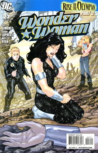 Cover for Wonder Woman (DC, 2006 series) #27