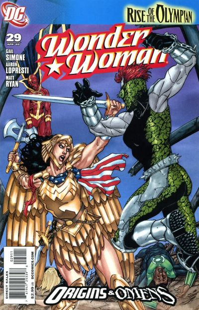 Cover for Wonder Woman (DC, 2006 series) #29 [Marcos Martin Variant]
