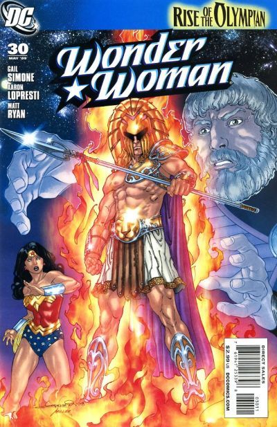 Cover for Wonder Woman (DC, 2006 series) #30