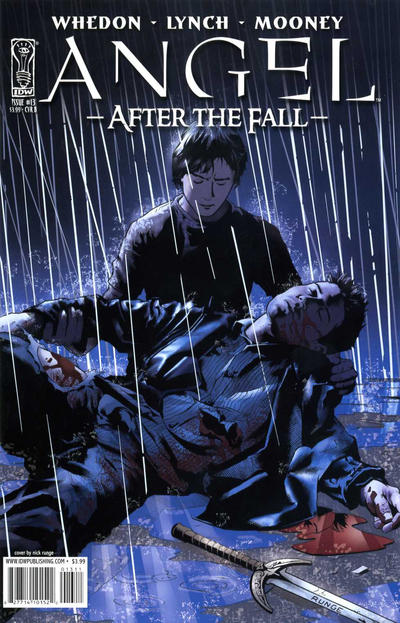 Cover for Angel: After the Fall (IDW, 2007 series) #13 [Cover B]