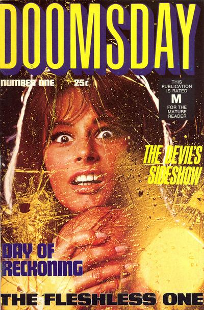 Cover for Doomsday (K. G. Murray, 1972 series) #1