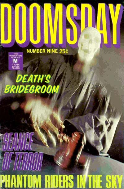 Cover for Doomsday (K. G. Murray, 1972 series) #9