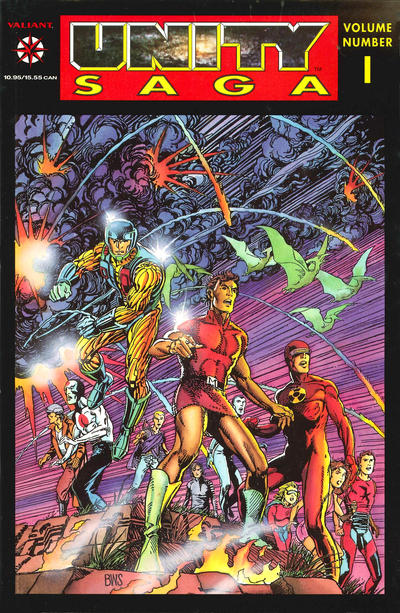 Cover for Unity Saga (Acclaim / Valiant, 1994 series) #1