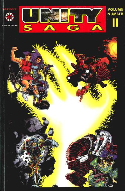 Cover for Unity Saga (Acclaim / Valiant, 1994 series) #2