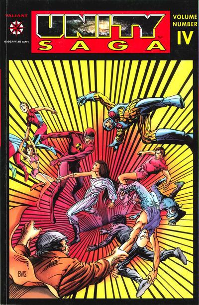 Cover for Unity Saga (Acclaim / Valiant, 1994 series) #4