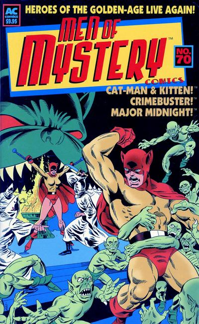 Cover for Men of Mystery Comics (AC, 1999 series) #70