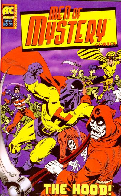 Cover for Men of Mystery Comics (AC, 1999 series) #71