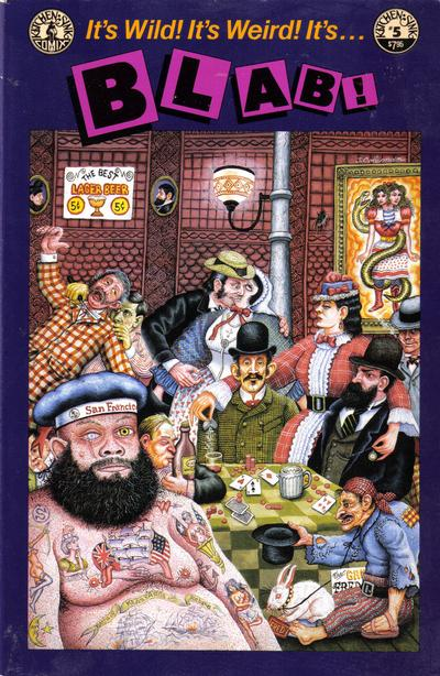 Cover for Blab! (Kitchen Sink Press, 1988 series) #5