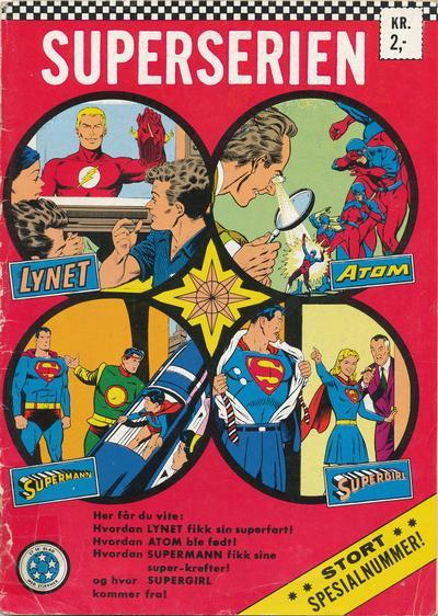Cover for Superserien spesialnummer (Serieforlaget / Se-Bladene / Stabenfeldt, 1967 series)