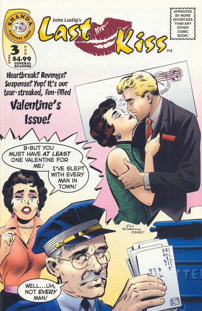 Cover for Last Kiss (Shanda Fantasy Arts, 2001 series) #3