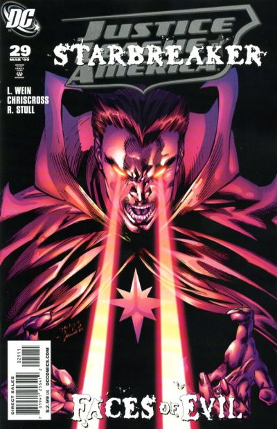 Cover for Justice League of America (DC, 2006 series) #29