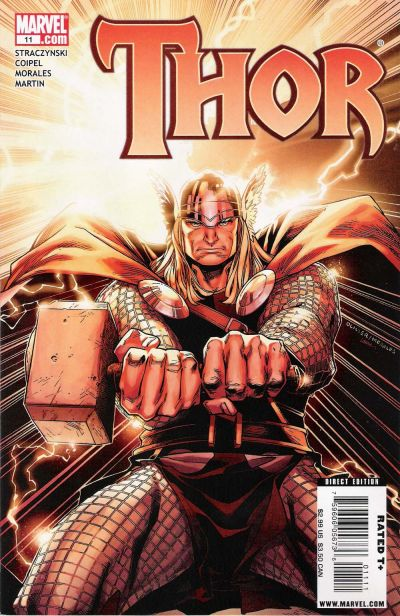 Cover for Thor (Marvel, 2007 series) #11