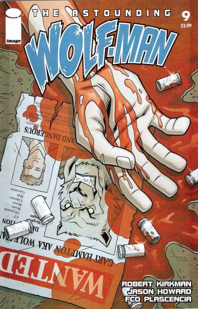 Cover for The Astounding Wolf-Man (Image, 2007 series) #9