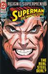 Cover for Superman: The Man of Steel (DC, 1991 series) #25 [Direct]