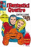 Cover for I Fantastici Quattro (Editoriale Corno, 1971 series) #1