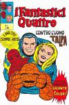 Cover for I Fantastici Quattro (Editoriale Corno, 1971 series) #1