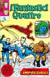 Cover for I Fantastici Quattro (Editoriale Corno, 1971 series) #3