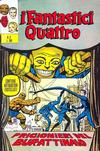 Cover for I Fantastici Quattro (Editoriale Corno, 1971 series) #5